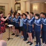Ainslie School Choir at 2019 Pens Against Poverty Awards