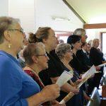 People singing carols