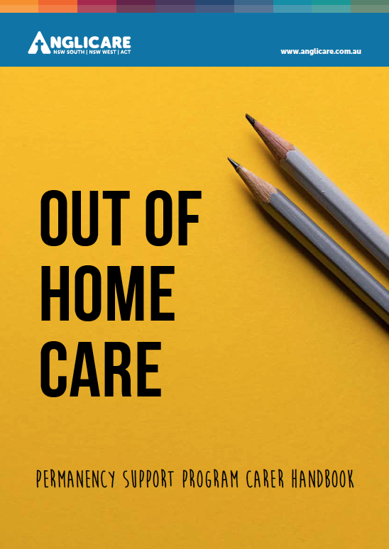 Out of Home Care Carer Handbook Cover