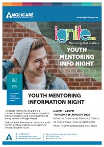 Ignite Info Night Jan 2020 Poster