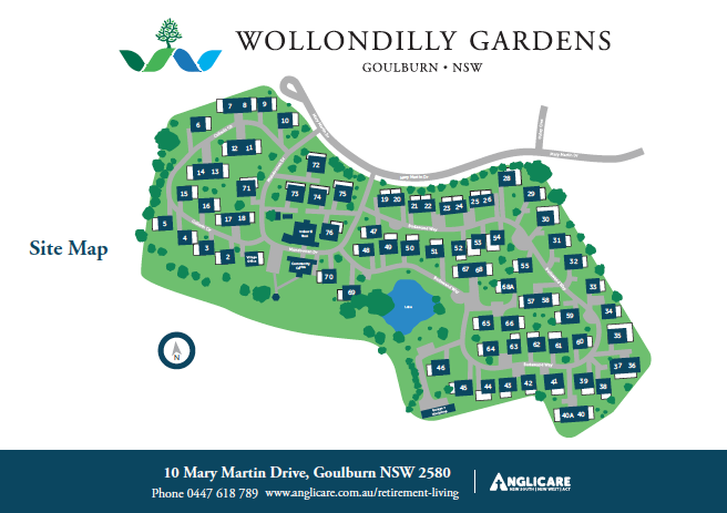 Wollondilly Site Map