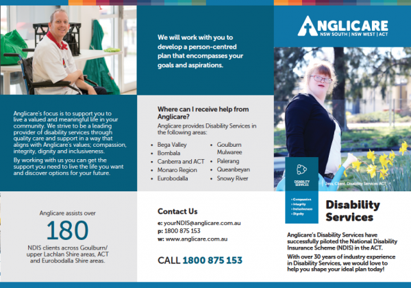 Disability Services Brochure