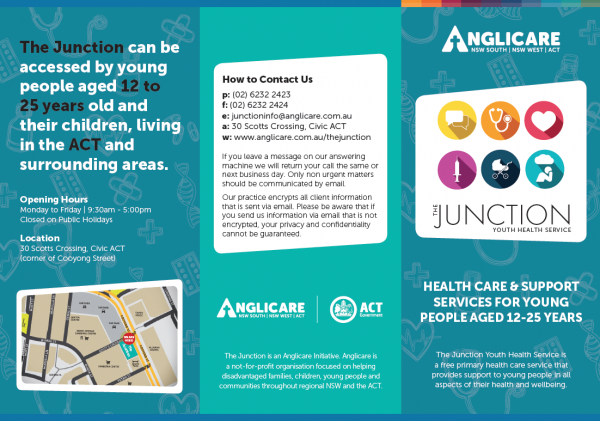 Junction Youth Health Brochure