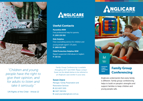Family Group Conferencing Brochure