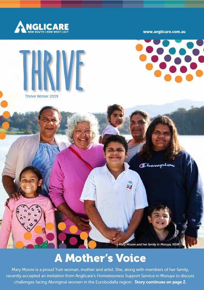 Thrive Newsletter Dec 2019