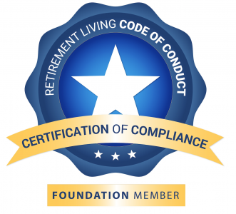 Retirement Living Code of Conduct Certification of Compliance - Foundation Member Logo