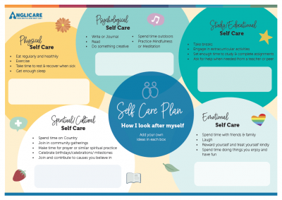 Youth Self Care Plan Image